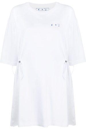 OFF-WHITE Floral Arrows T-shirt dress