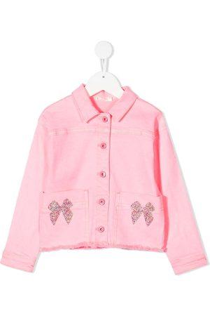 Billieblush Ruffle-detail denim jacket