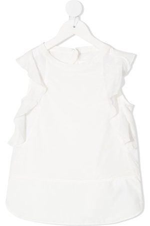 Chloé Ruffle sleeveless blouse