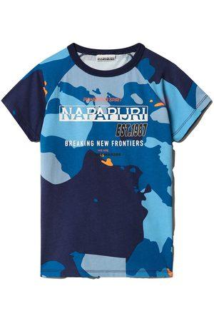 Napapijri Short Sleeve - K Sobbi Ss 12 Years Camo F3G