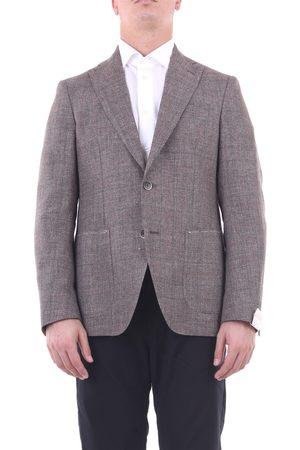 SARTORIA GABIATI Blazer Men and linen and cotton