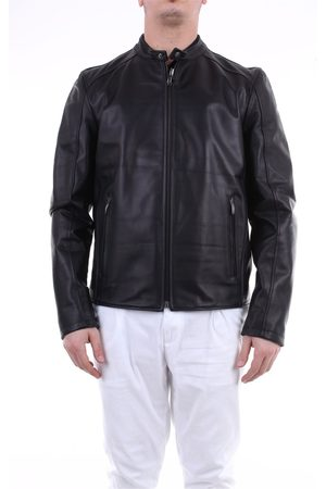 EMANUELE CURCI Leather jackets Men