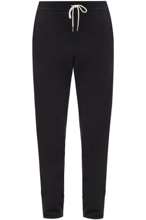 Jil Sander High-waist Drawstring Cotton-jersey Track Pants - Womens