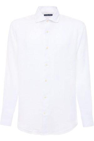 Frescobol Carioca Regular Fit Linen Shirt