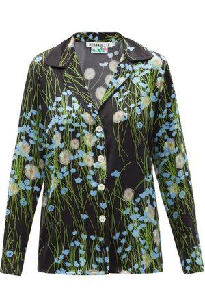 Bernadette Floral-print Silk-blend Satin Pyjamas - Womens