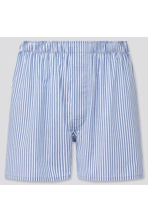 UNIQLO Men's Woven Striped Boxers, , S
