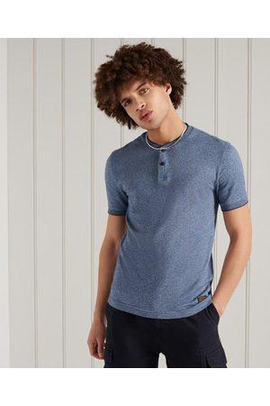 Superdry Organic Cotton Short Sleeve Henley Top