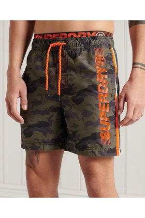 Superdry Men Swim Shorts - State Volley Swim Shorts