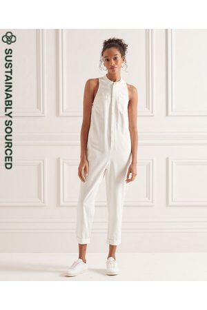 Superdry Women Sweats - Tencel Sleeveless Jumpsuit