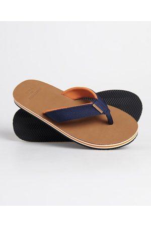 Superdry Men Flip Flops - Surf Leather Flip Flops