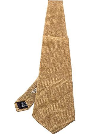 VALENTINO Vintage Printed Silk Traditional Tie