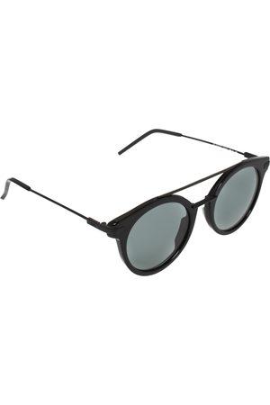 Fendi Black / FF 0225/S Round Sunglasses