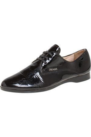 Prada Patent Leather Lace up Derby Size 36.5