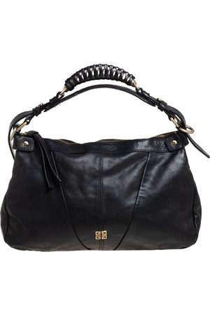 Givenchy Leather Ruched Hobo