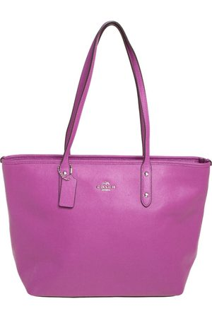 Coach Pebbled Leather Town Tote