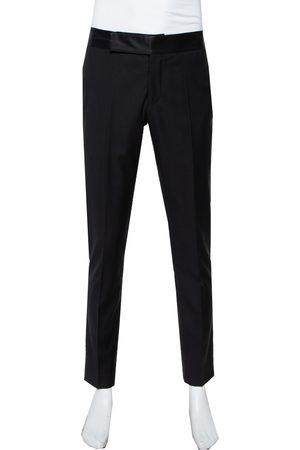 Armani Wool Straight Leg Trousers L
