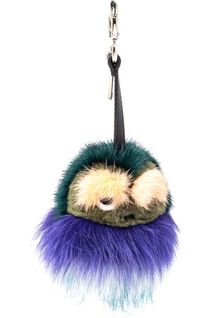 Fendi Fur Monster Bug Bag Charm/ Key Ring