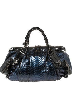Gucci Python Galaxy Satchel