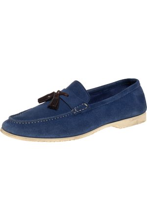 Tom Ford Suede Tassel Loafers Size 43.5