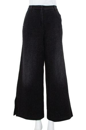 CHANEL Denim Flared Jeans M