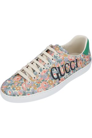 Gucci Ace Floral Sneakers Size EU 35