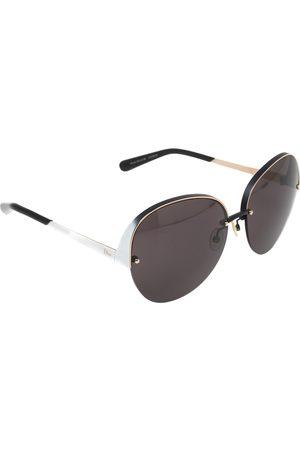 Dior Bicolor Degrade/ Grey Superbe Limited Edition Round Sunglasses