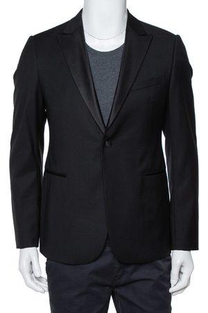 Armani Wool M Line Drop 8 Tailored Blazer L
