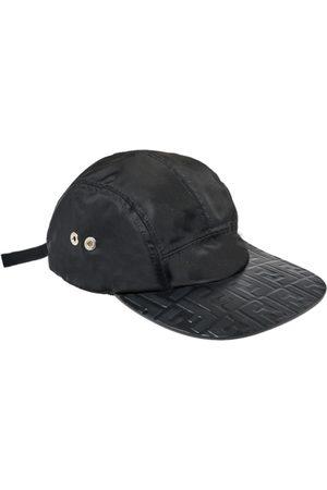 Fendi FF Logo Embossed Baseball Cap One Size