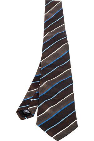 Givenchy Diagonal Striped Silk Tie