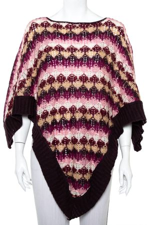 Missoni Mohair Poncho (One Size)