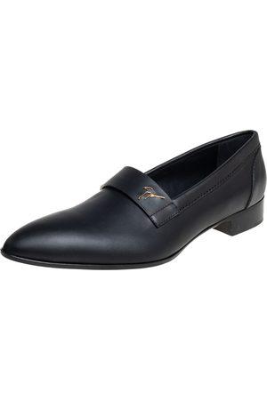 Giuseppe Zanotti Leather Slip On Loafers Size 44