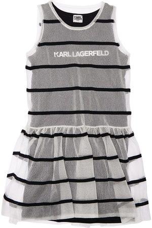 Karl Lagerfeld Girls Dresses - 2-in-1 Sleeveless Dress