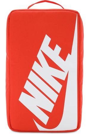 Nike Logo Print Shoebox W/ Zip Closure
