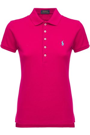 Polo Ralph Lauren Women Polo Shirts - Julie Stretch Cotton Mesh Polo