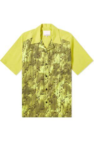 Paria Farzaneh Men Shirts - Reverse Collar Print Shirt