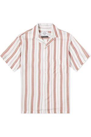 Portuguese Flannel Men Shirts - Bava Stripe Vacation Shirt