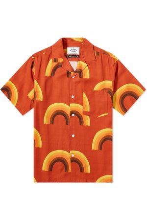 Portuguese Flannel Rainbow Vacation Shirt