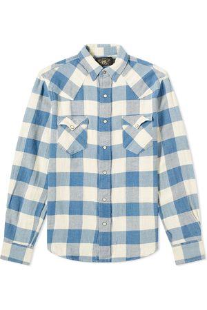 RRL Men Shirts - Buffalo Western Check Shirt