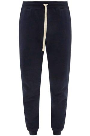 Reigning Champ Men Sweatpants - Slim Cotton-jersey Track Pants - Mens - Navy