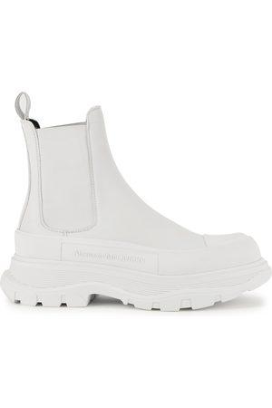Alexander McQueen Women Chelsea Boots - Tread Slick leather Chelsea boots