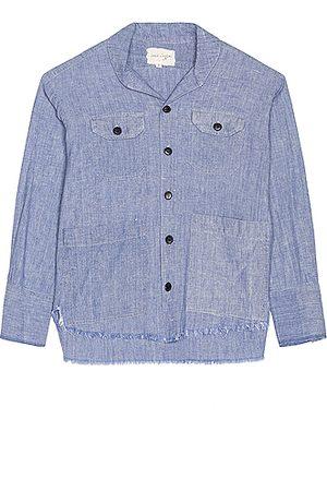 GREG LAUREN The Chambray Dress Shirt in