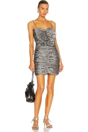 Isabel Marant Tikyna Dress in Metallic