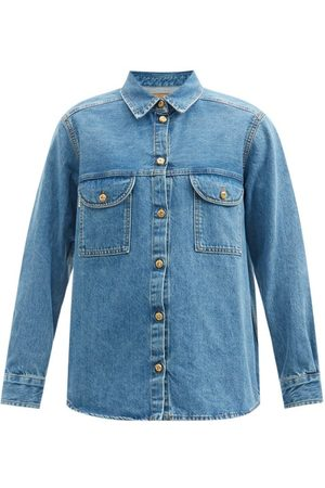Blazé Milano Nariida Maya Denim Shirt - Womens - Denim