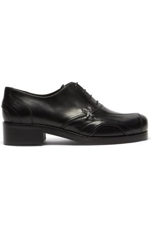 Stefan Cooke Panelled Leather Oxford Shoes - Mens