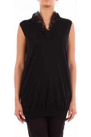 GIO BELLUCCI Knitted vest Women cotton