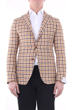 BOTTEGA MARTINESE Men Blazers - Blazer Men linen and cotton