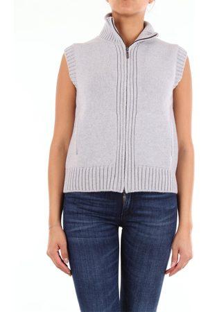GIO BELLUCCI Women Tank Tops - Vest Women Grey cashmere