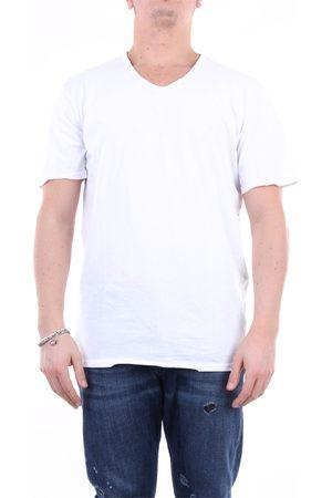 DANIELE ALESSANDRINI HOMME Short sleeve Men cotton