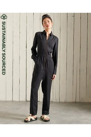 Superdry Women Sweats - Tencel Western Jumpsuit