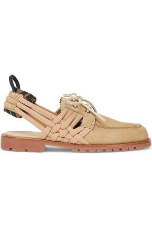 Fendi Men Loafers - Nubuck Leather Loafers